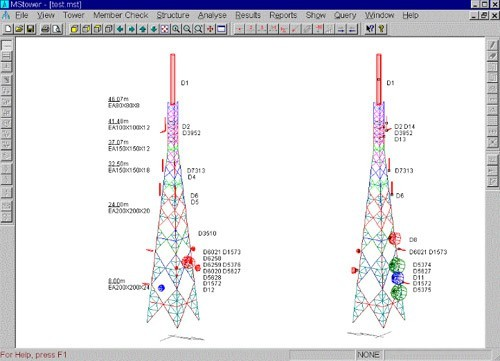 GSM/Telekomünikasyon Kule Tasarımı