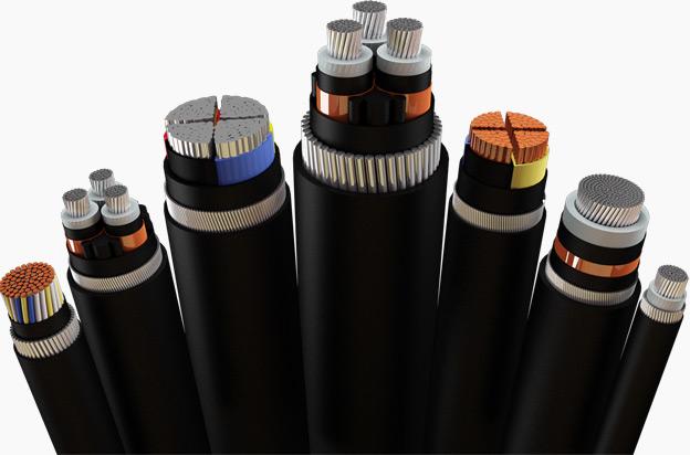 Düşük/Orta/Yüksek Gerilim Kabloları